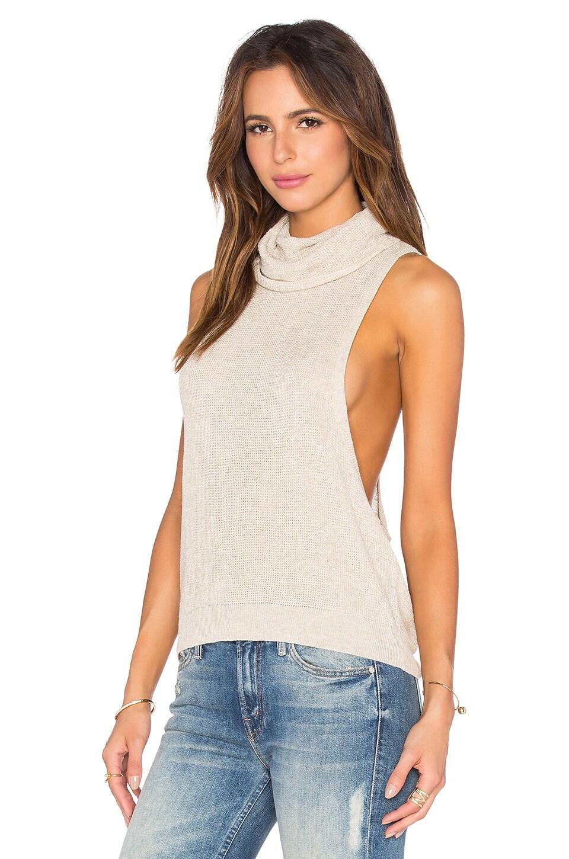 Sleeve Turtleneck Sweater