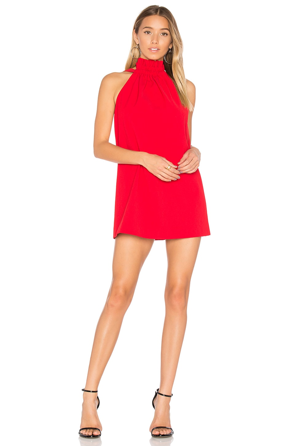 Out Of Line Mini Dress