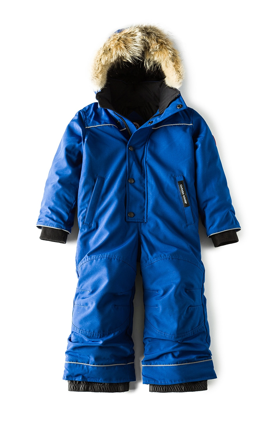 Grizzly Coyote Fur Trim Snowsuit