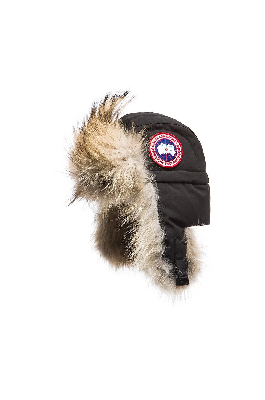 Aviator Coyote Fur Trim Hat