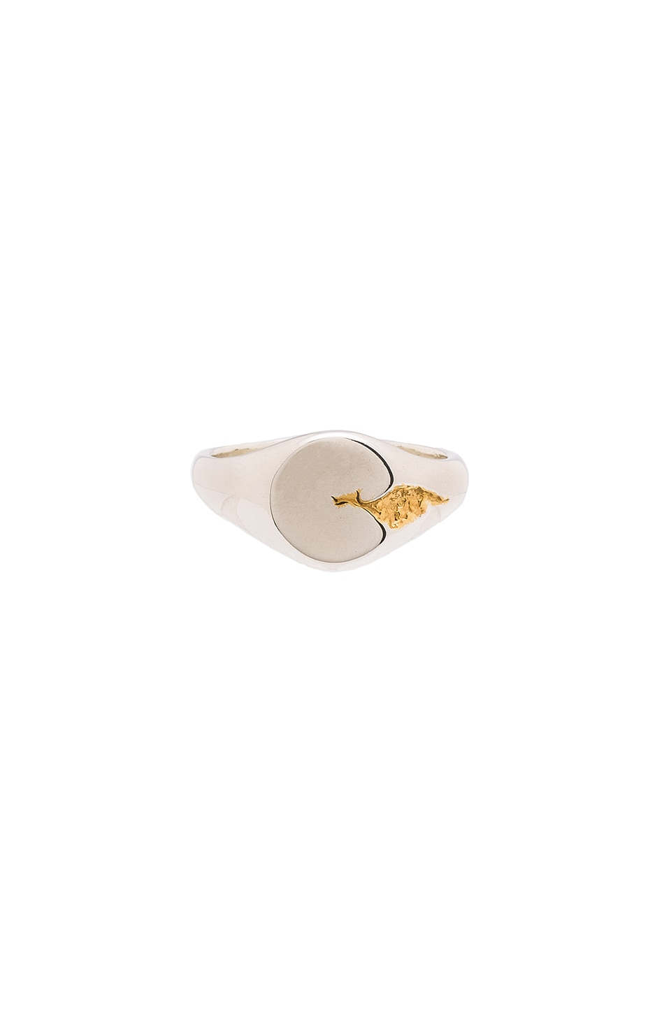 Sterling Silver With Gold Fill Ring