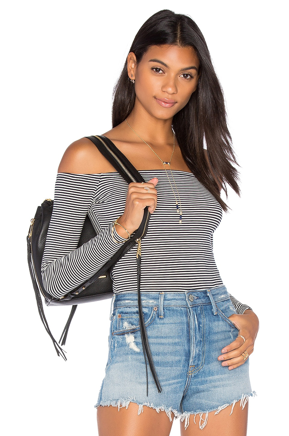 Rider Off Shoulder Bodysuit