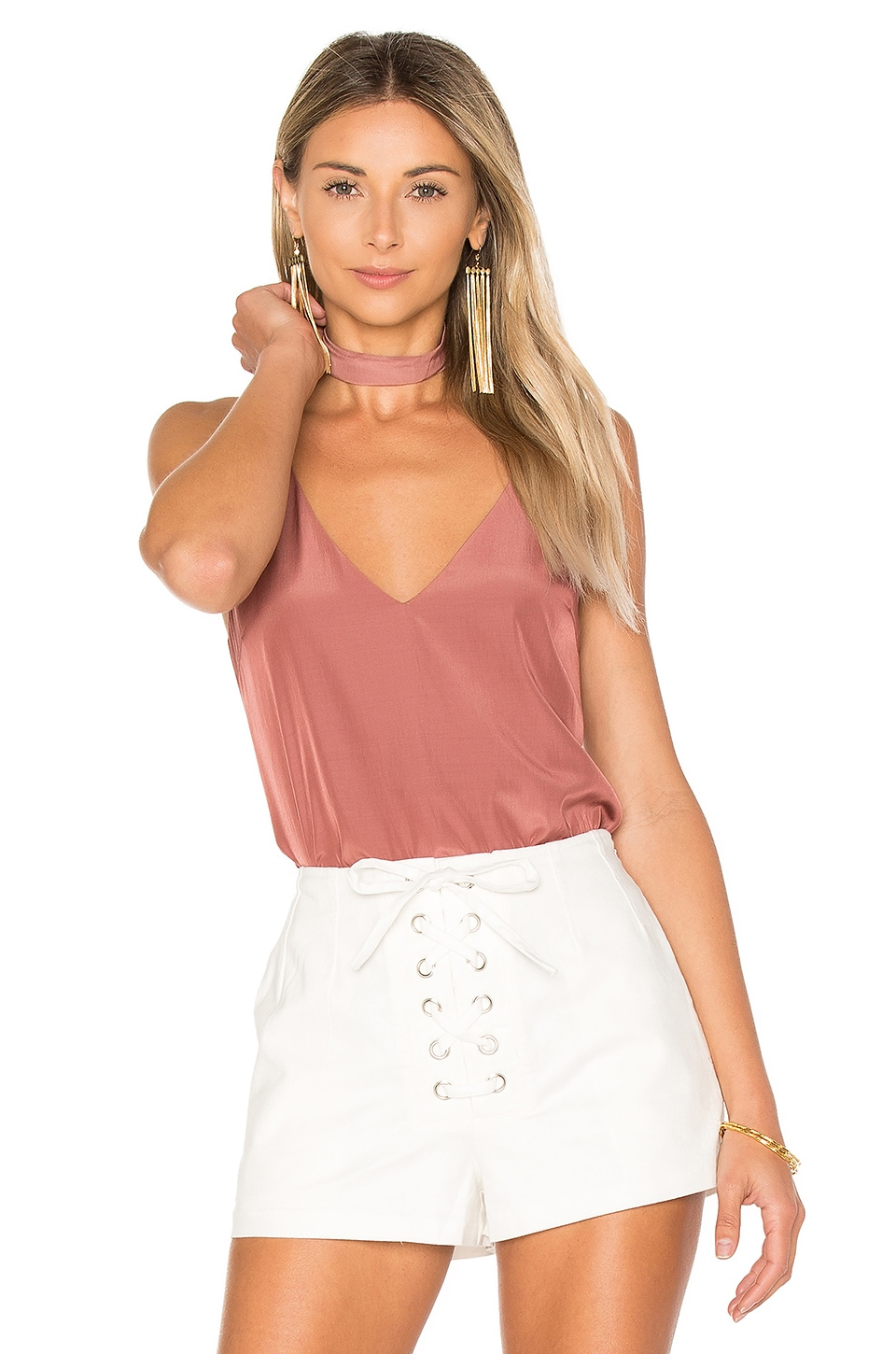 Flore Camisole with Choker