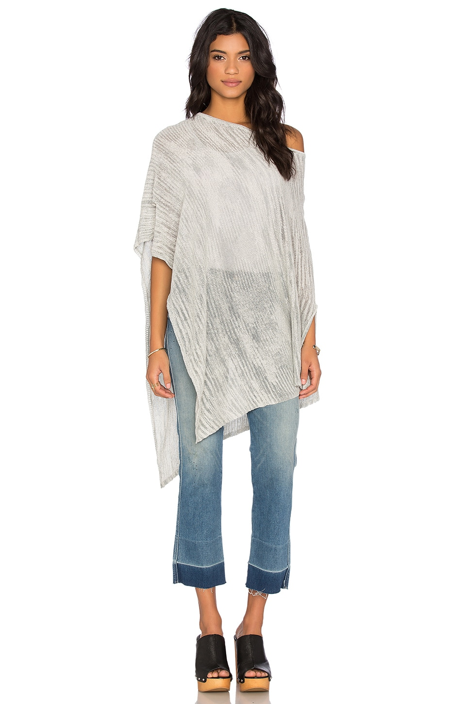 Oahu Off Shoulder Poncho