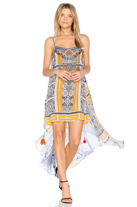 Mini Dress with Overlay