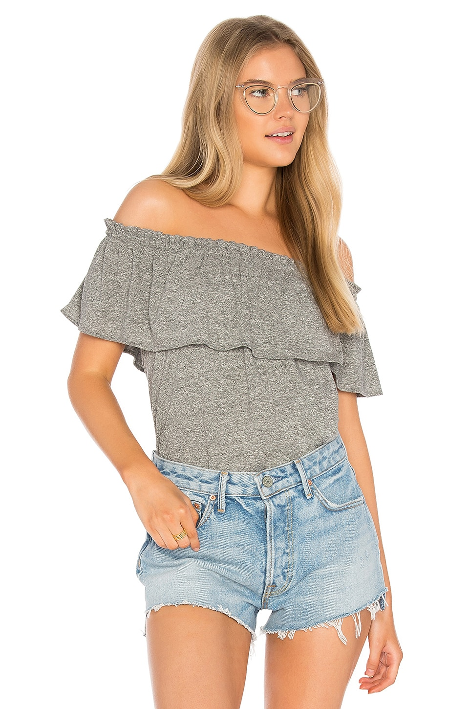 The Ruffle Top