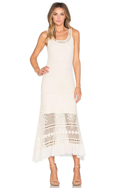 Helias Crochet Maxi Dress