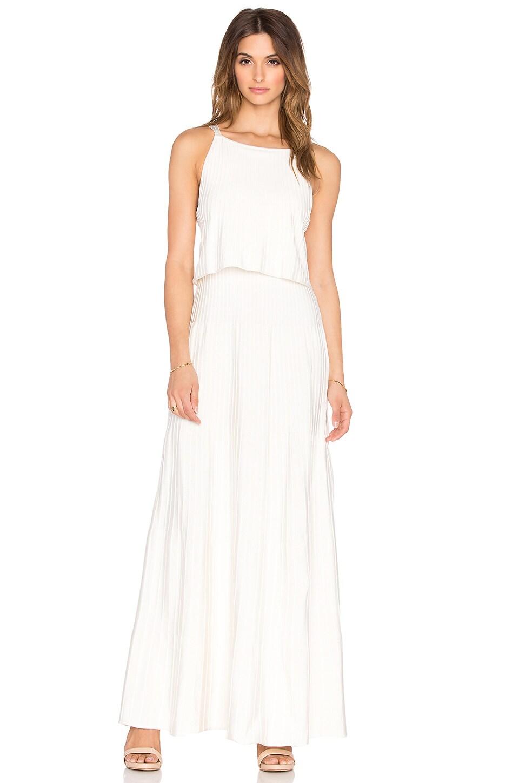 Layered Ribbed Maxi Dress