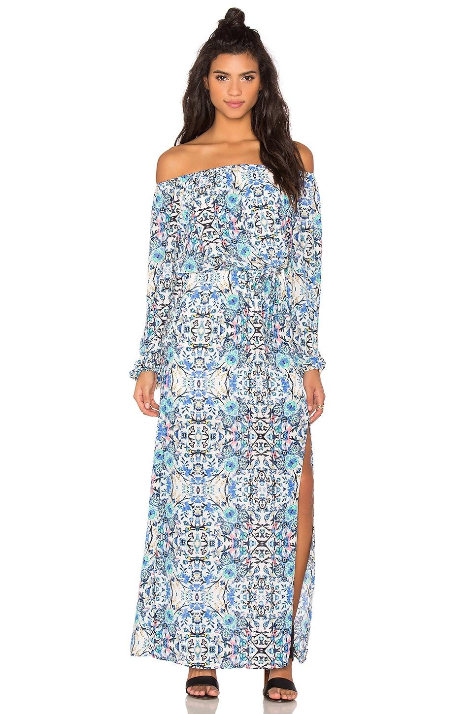Broken Bloom Maxi Dress