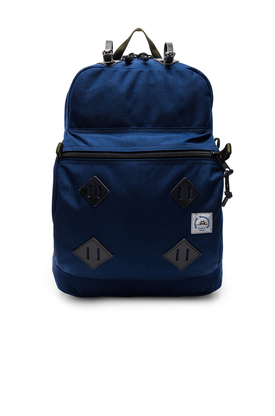 Leather Patch Day Pack