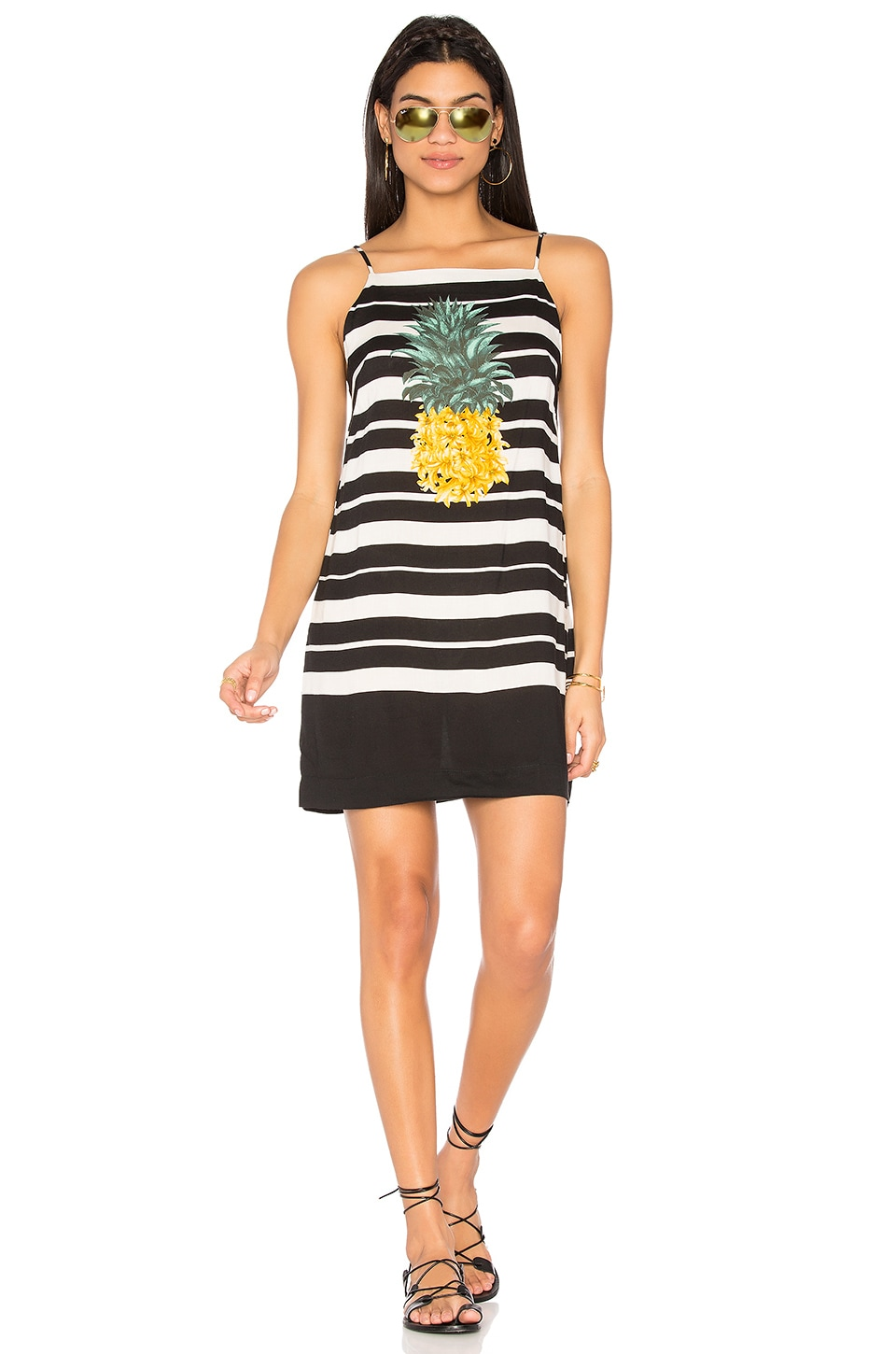 Striped Pineapple Dress