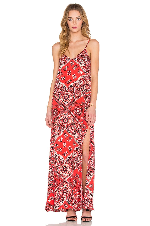 Double V Maxi Dress