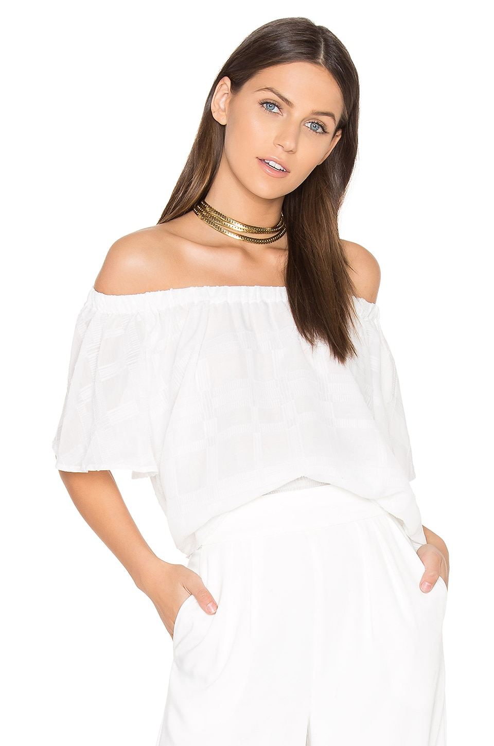 Better Days Ruffle Top