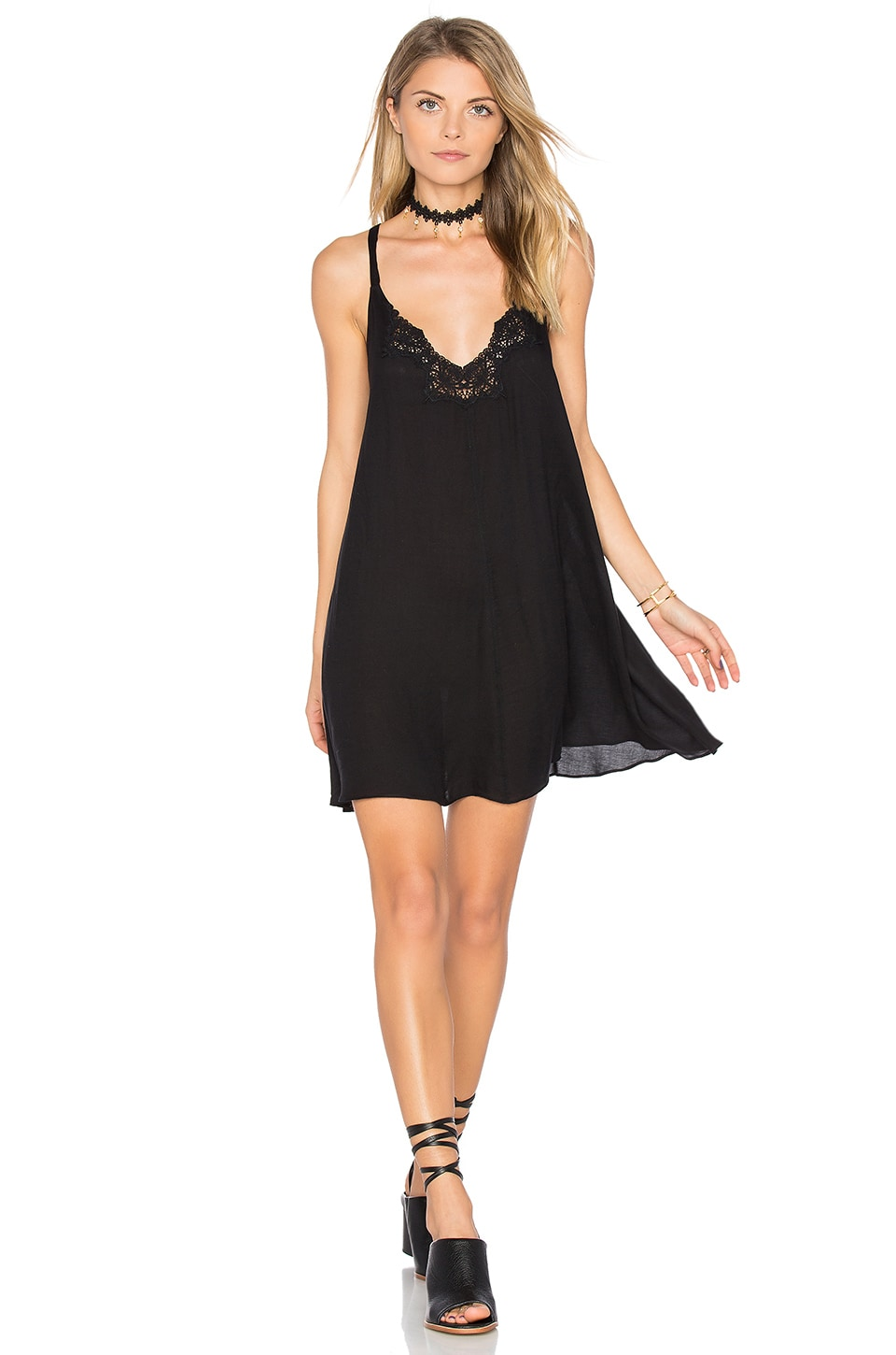 Kendall Trapeze Slip Dress