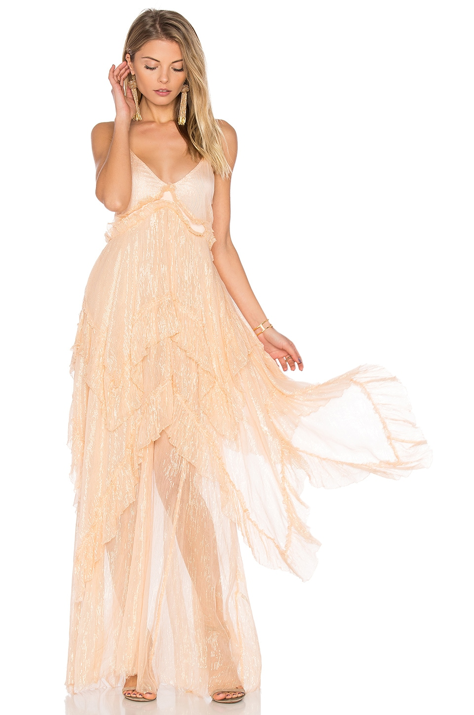 Midnight Rendezvous Maxi Dress