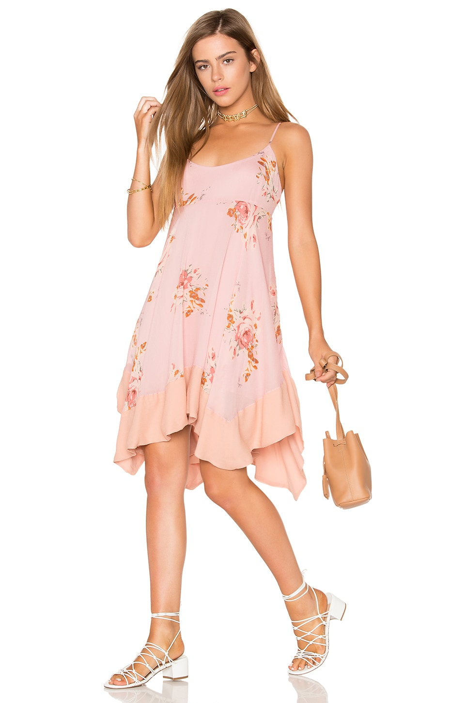 Faded Bloom Mini Dress