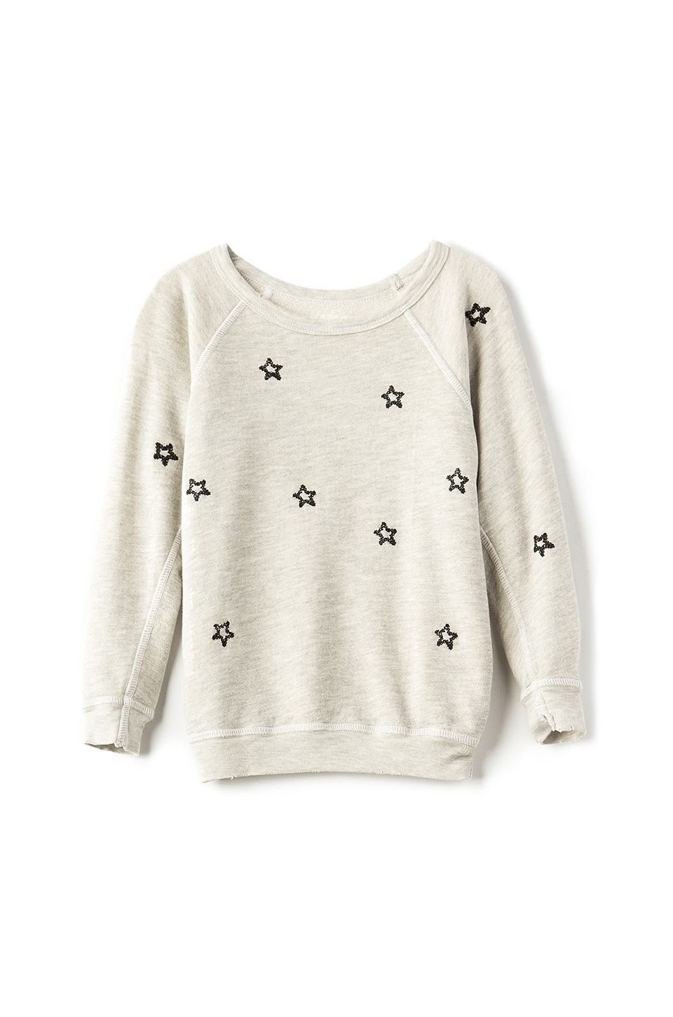The Little Embroidered Star Sweatshirt