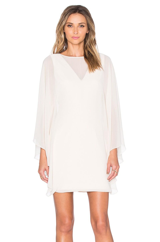 Sheer Overlay Mini Dress