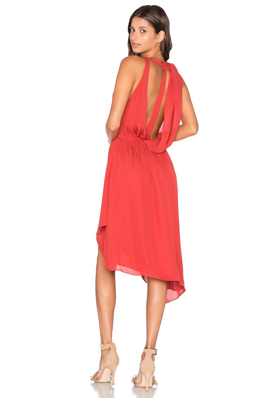 Sleeveless Handkerchief Wrap Mini Dress