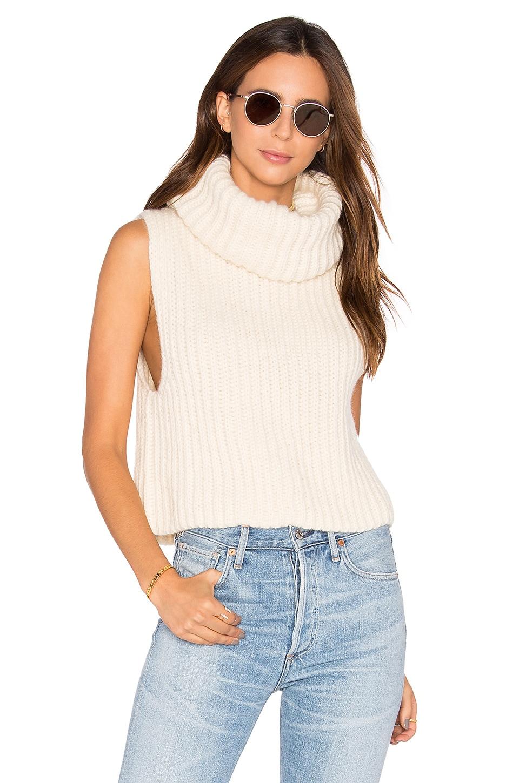 Zoe Sleeveless Turtleneck Sweater