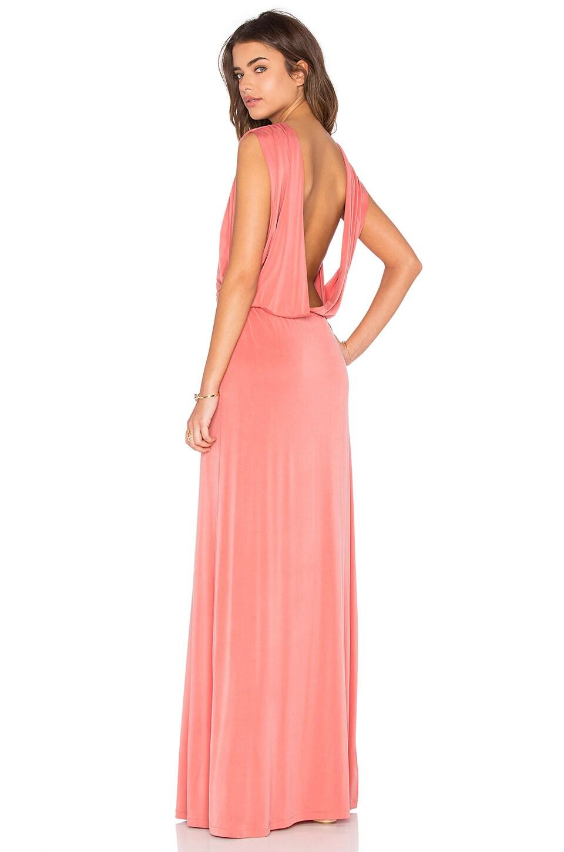 Open Back Maxi Dress