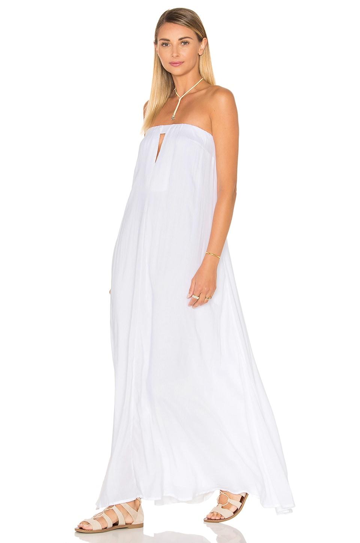 Sail Strapless Maxi Dress