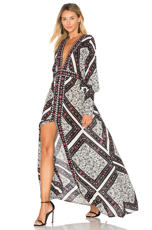 Flamenco Maxi Dress