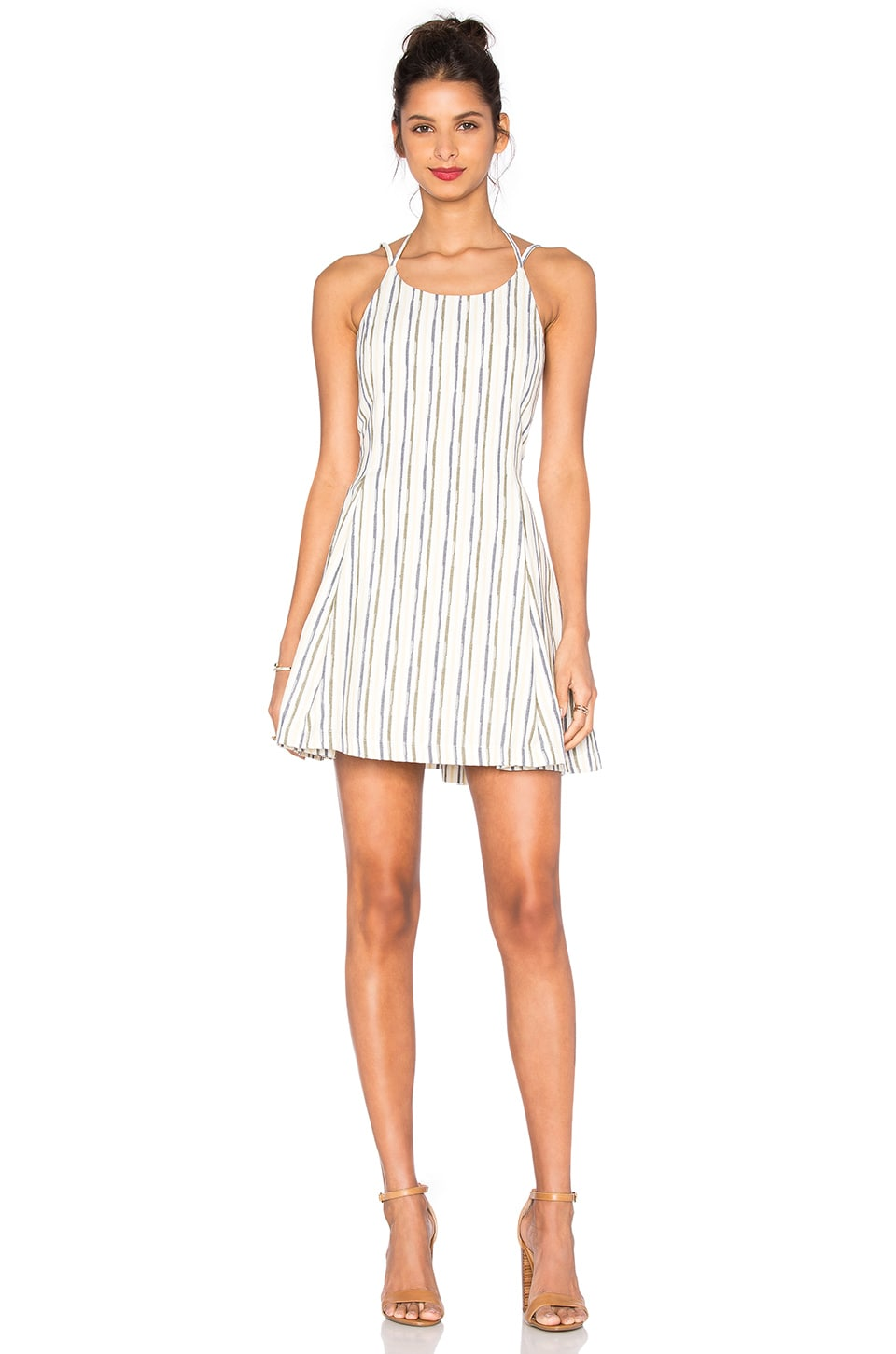 Stripe Mini Dress