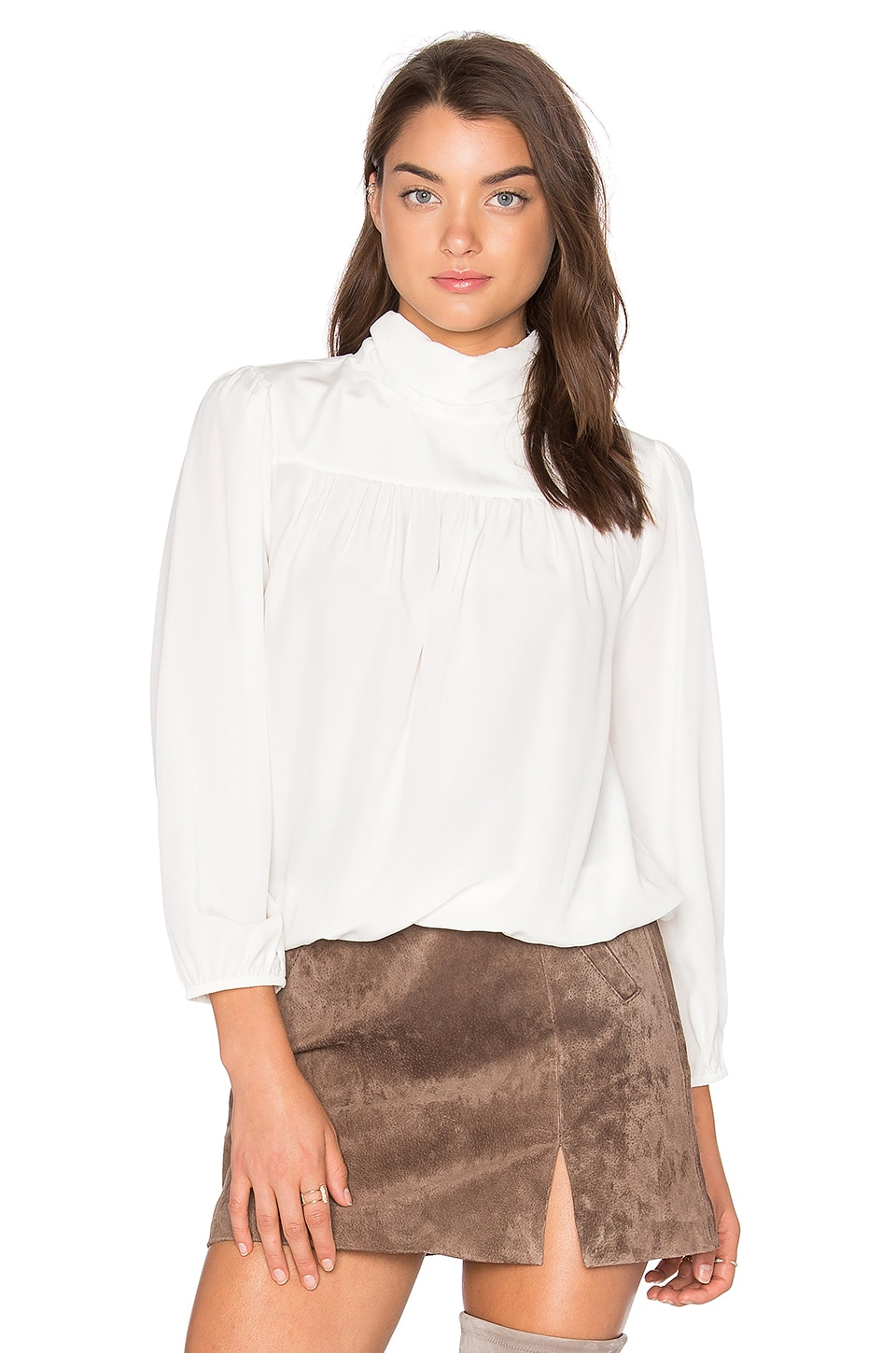 Lively Silk Blouse