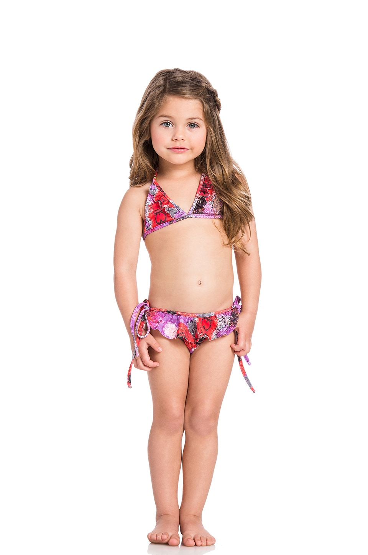 Mini Mamba Ruffle Bikini