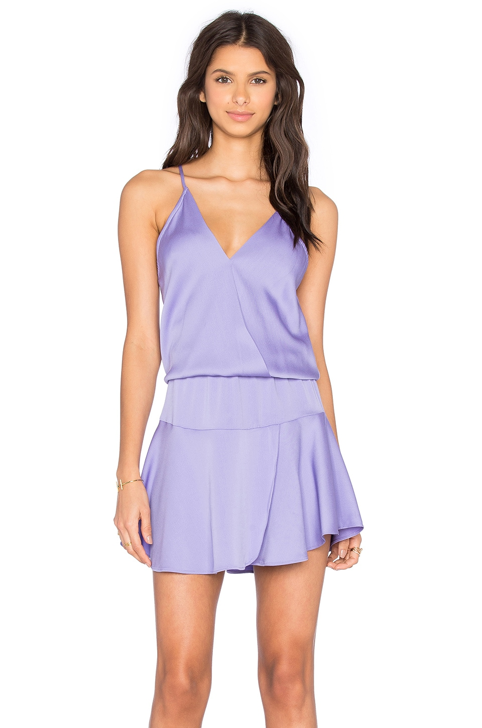 Ollie Solid Mini Dress