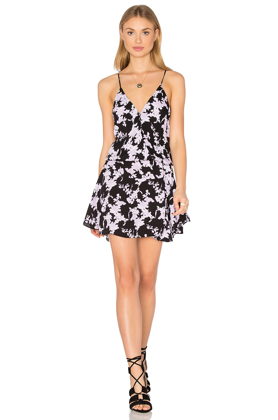 Ollie Print Mini Dress