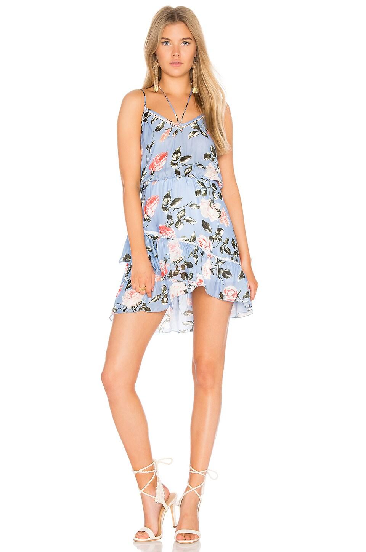Love Print Mini Dress