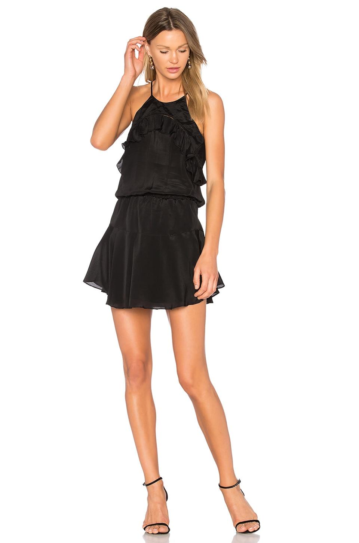Celine Solid Mini Dress