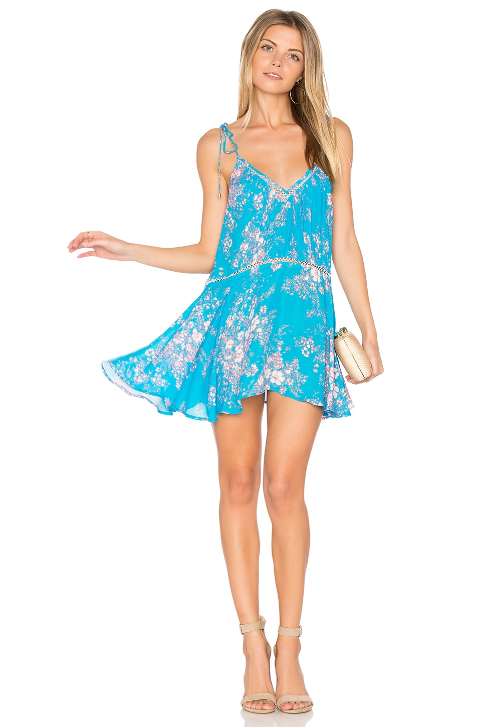 Verano Print Mini Dress