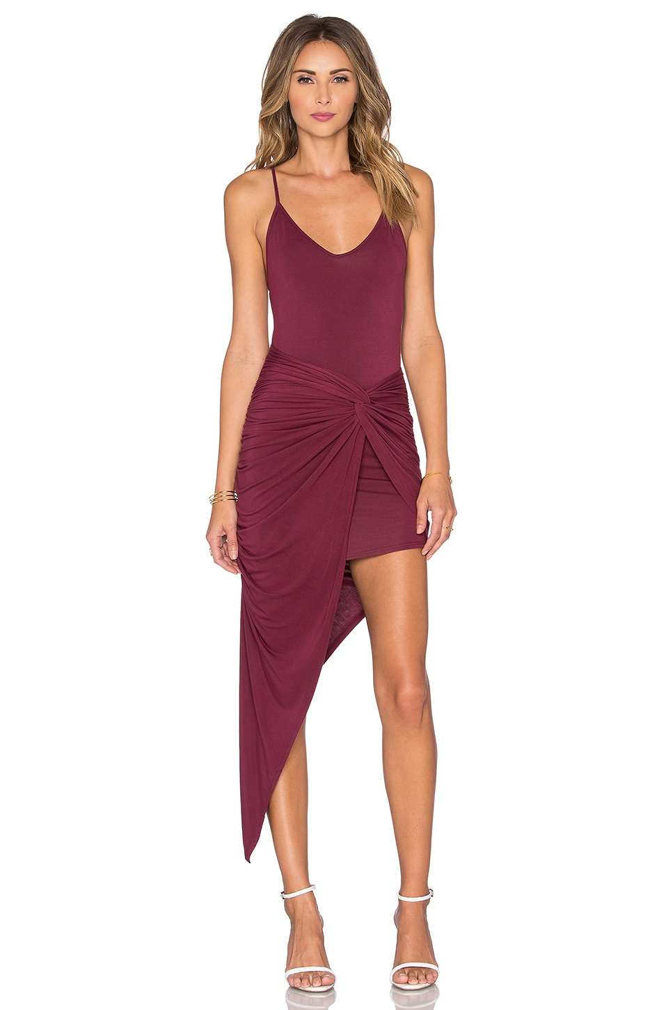 Knotted Cami Maxi Dress