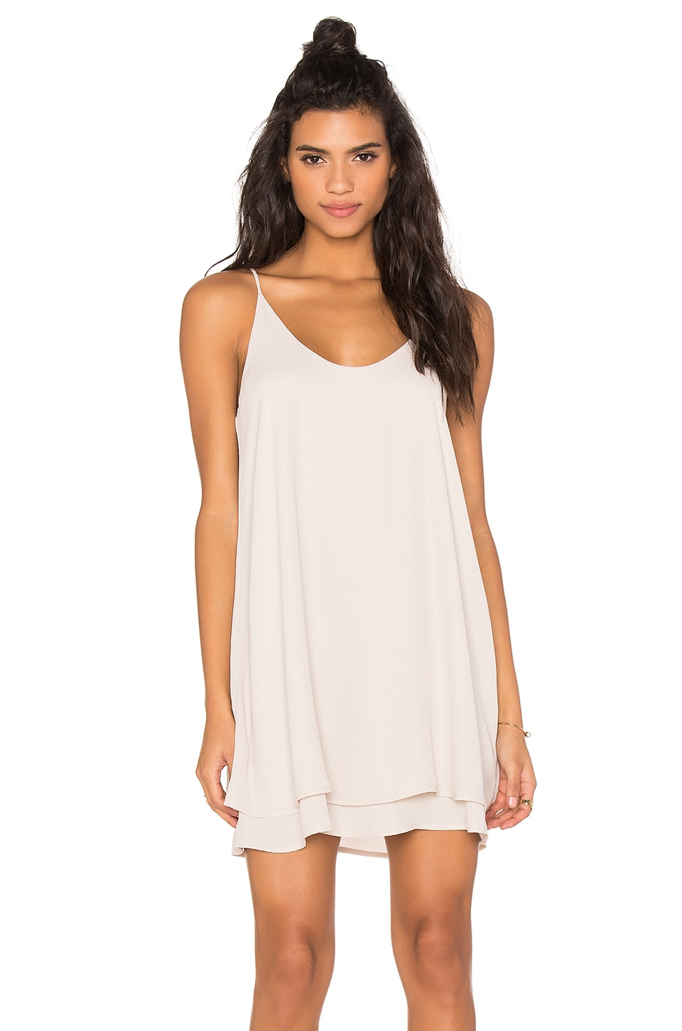 Double Layer Mini Dress
