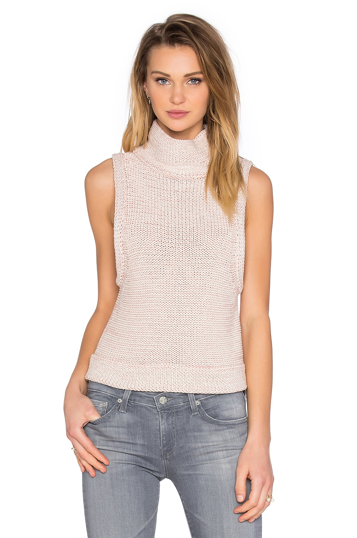 Tilda Sleeveless Turtleneck Sweater