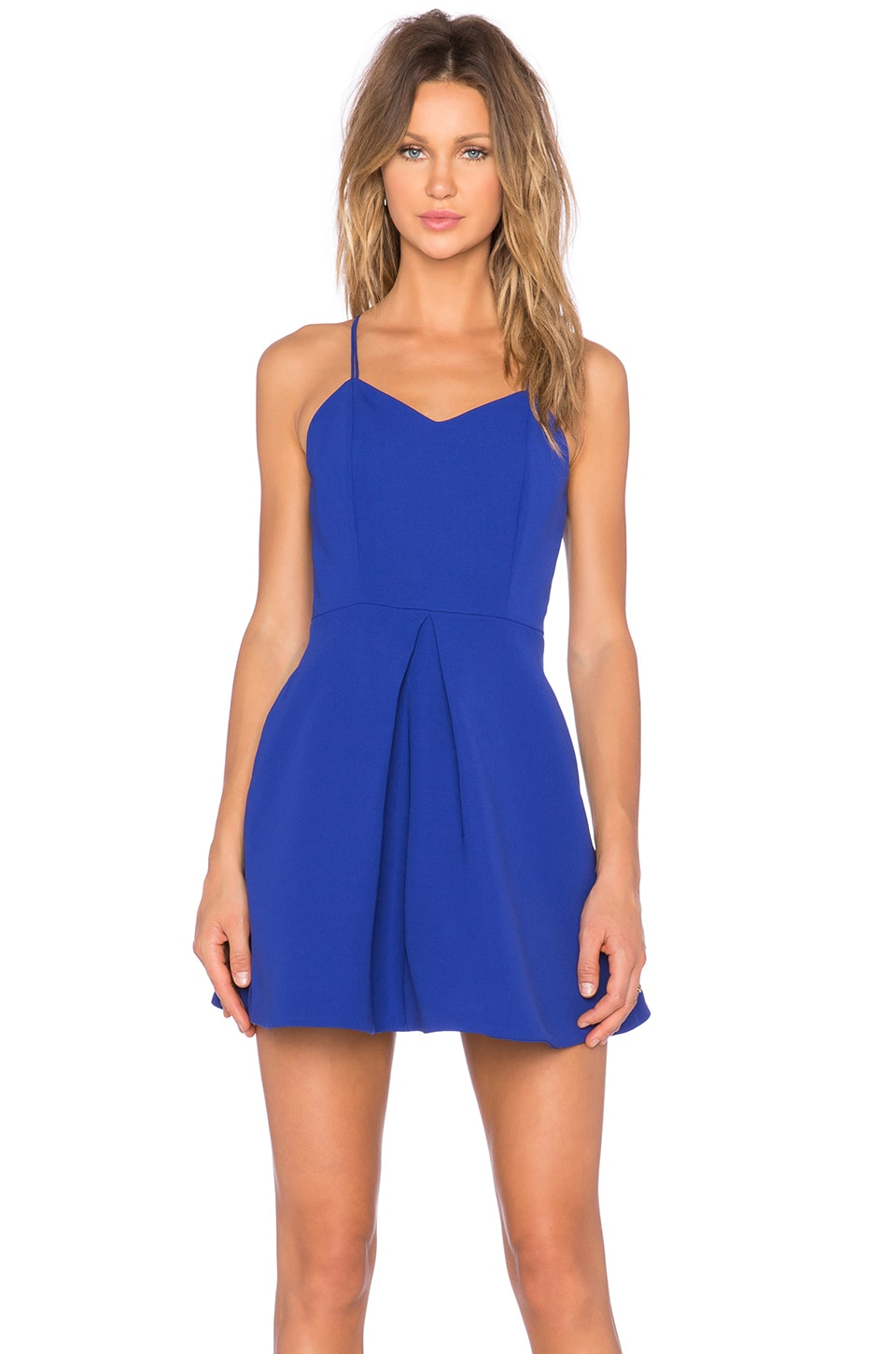 Twisted Fiction Mini Dress