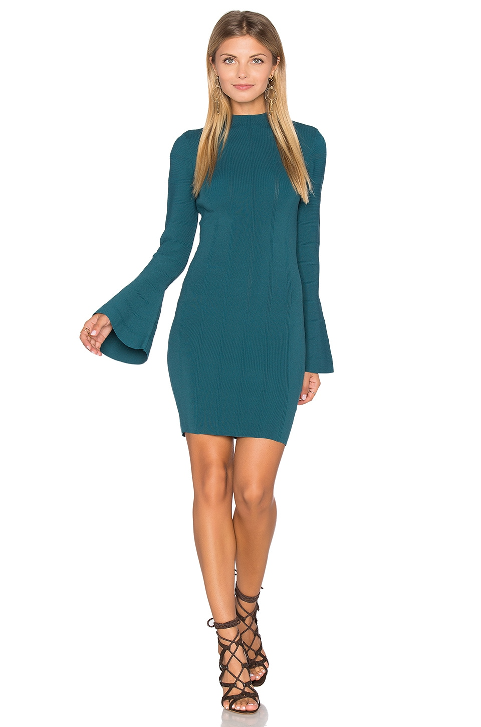 Lighthouse Knit Long Sleeve Dress