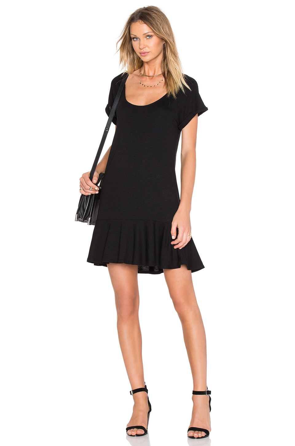 Ruffle T Dress