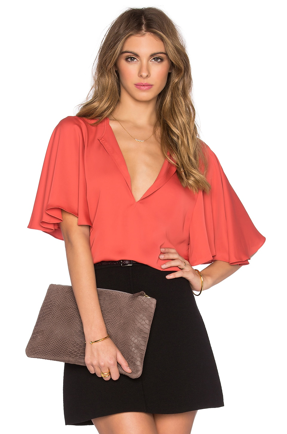 The Billowy Blouse