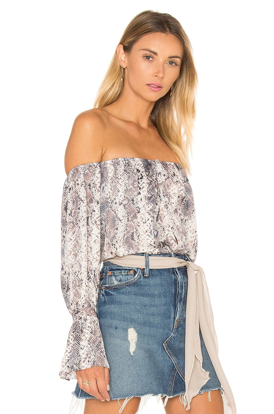 The Off Shoulder Blouse