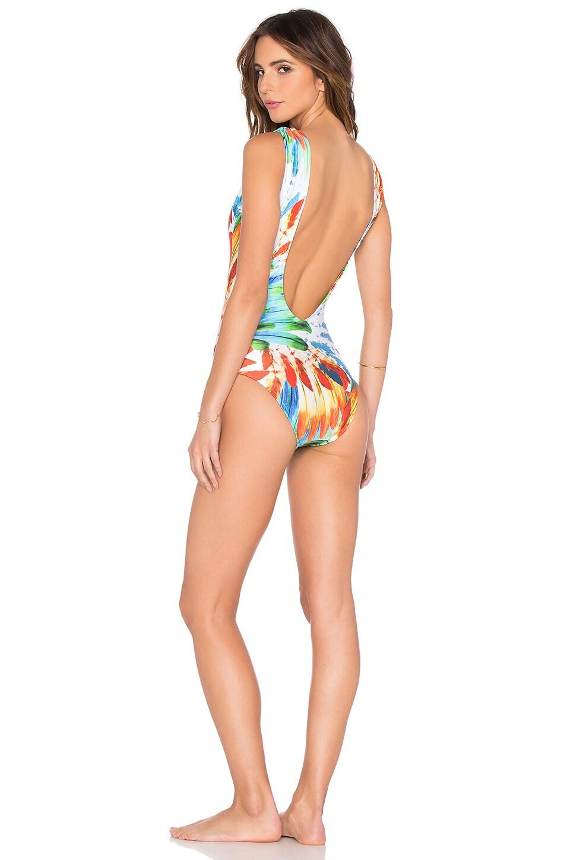 Deep V Swimsuit