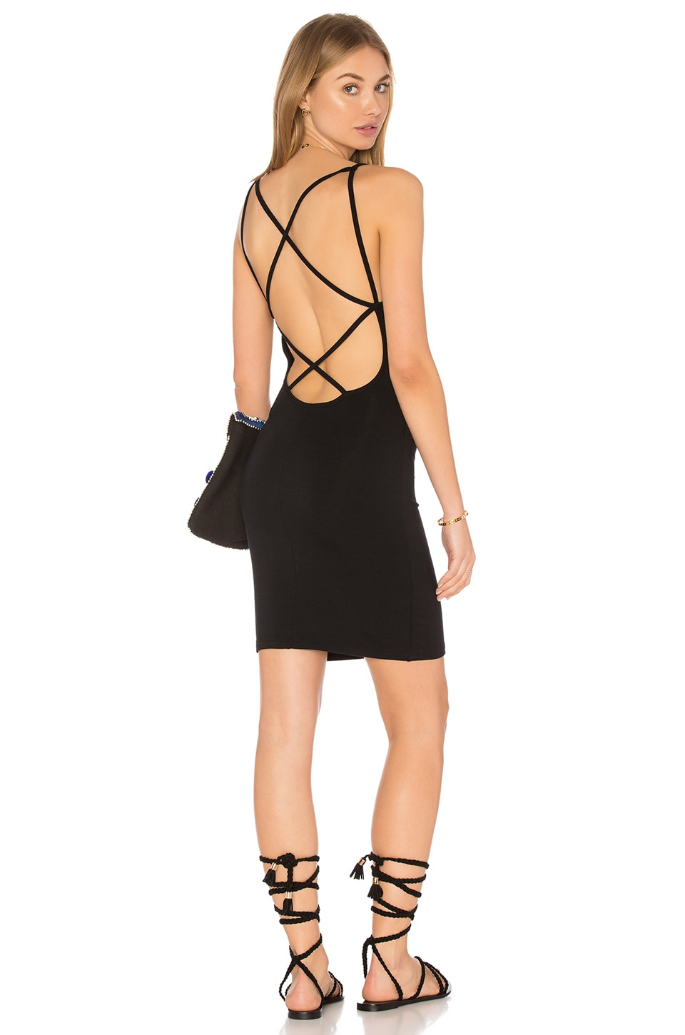 Strappy Mini Dress