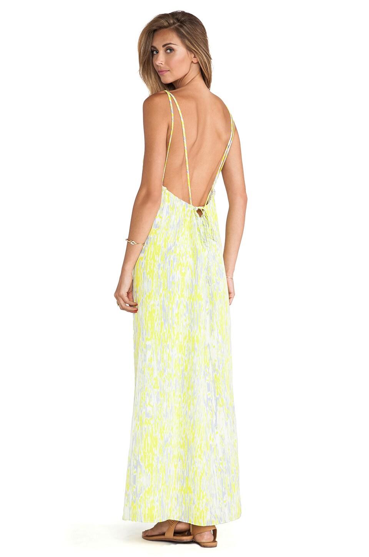 Golden Light Maxi Dress