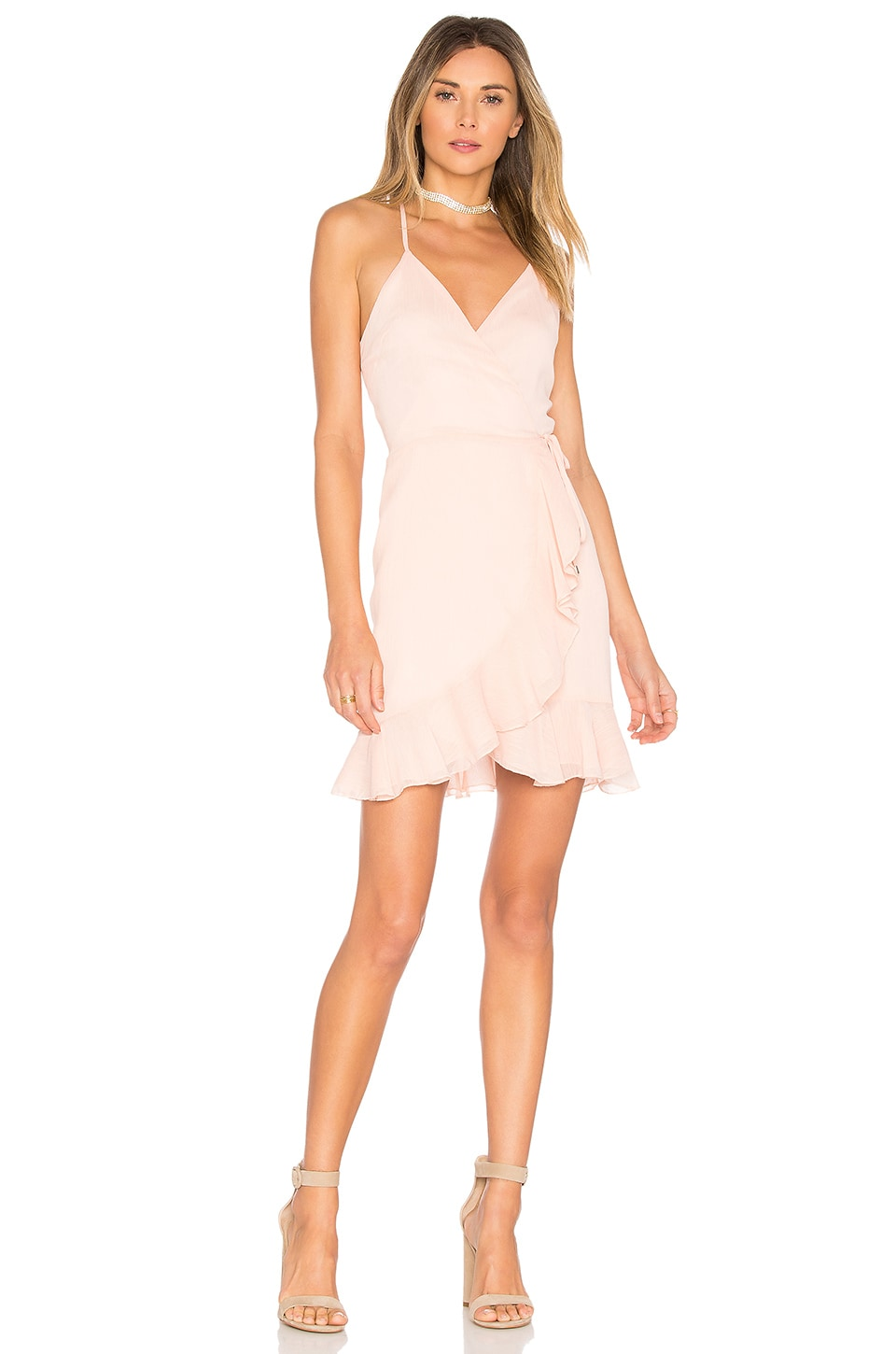 x REVOLVE Gigi Wrap Dress