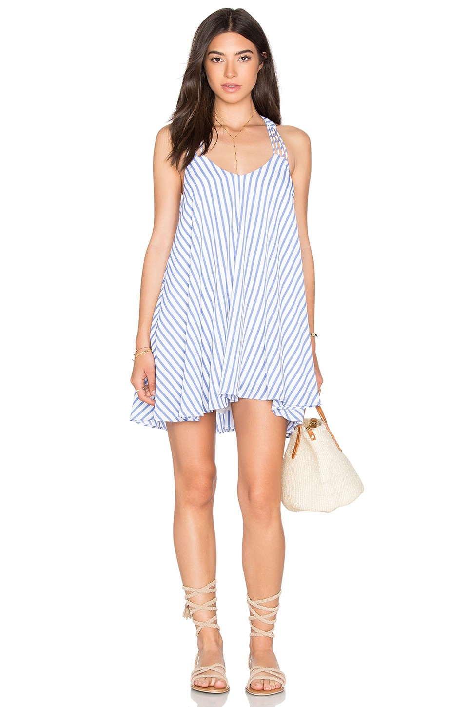 x REVOLVE Burnout Slip Dress