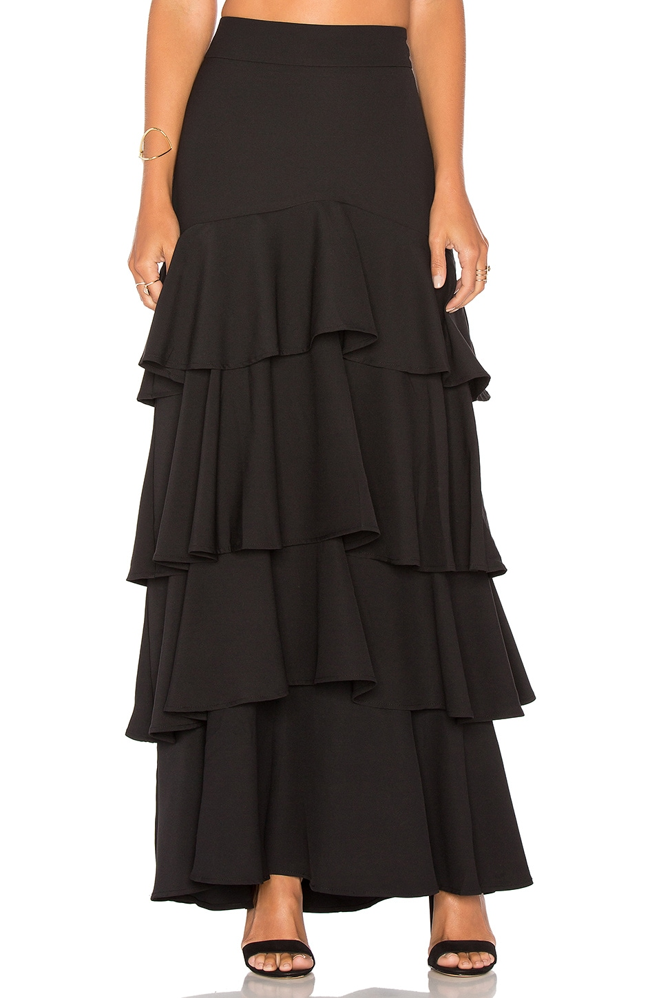 Liane Ruffled Skirt