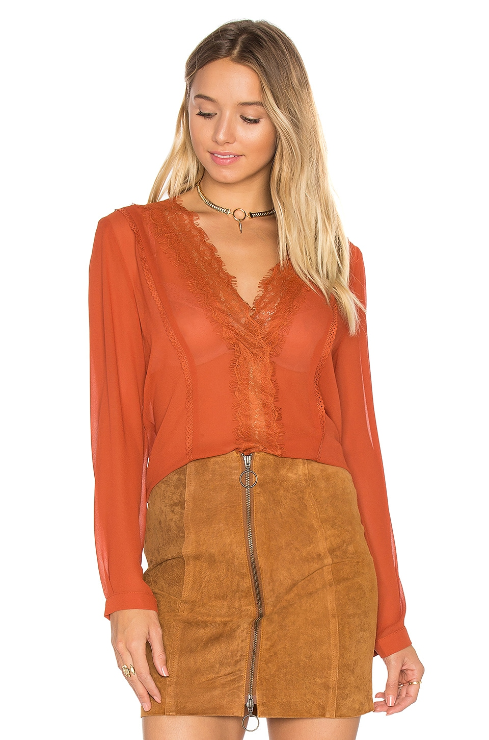 Carissa V Neck Top